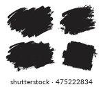 set of creative grunge banners  ... | Shutterstock .eps vector #475222834