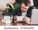 keeping track of customer orders   Shutterstock . vector #475236595