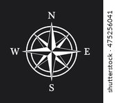 compass icon | Shutterstock .eps vector #475256041