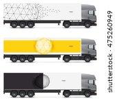 set of templates for transport. ...   Shutterstock .eps vector #475260949