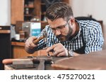 attention to detail is key in... | Shutterstock . vector #475270021