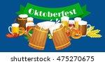 germany beer festival in...   Shutterstock .eps vector #475270675