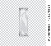 transparent wrap bag can use... | Shutterstock .eps vector #475275595