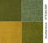 Texture Of Fabric In Four Colors