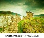 old castle scotland | Shutterstock . vector #47528368