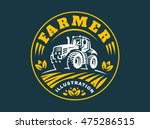 Tractor Logo Illustration ...
