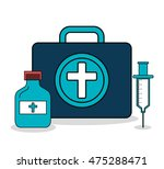 set medical healthcare icons... | Shutterstock .eps vector #475288471