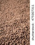 Small photo of Expanded clay aggregate. Used in construction for insulation and soundproofing