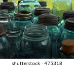 Old Wide Mouth Mason Jars