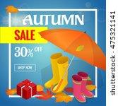 Autumn Sale Banner. Autumn Sal...