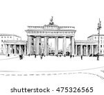 germany. berlin. brandenburg... | Shutterstock .eps vector #475326565
