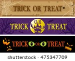 Trick Or Treat Banner Set