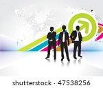abstract rainbow wave... | Shutterstock .eps vector #47538256