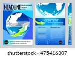 book cover presentation | Shutterstock .eps vector #475416307