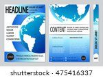 book cover presentation | Shutterstock .eps vector #475416337