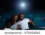 whole cinema to ourselves.... | Shutterstock . vector #475426561