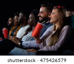 enjoying weekend with the... | Shutterstock . vector #475426579