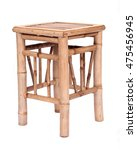 Fancy Bamboo Chair Separated O...