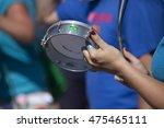 Tambourine Closeup