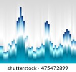 urban modern style landscape... | Shutterstock .eps vector #475472899