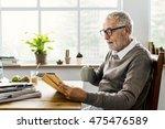 coffee break reading travel... | Shutterstock . vector #475476589