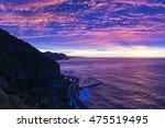 Sea Cliff Bridge On Sunrise...