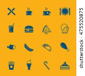 fast food icons | Shutterstock .eps vector #475520875