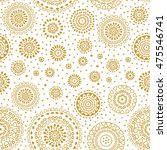 abstract circle shapes pattern. ... | Shutterstock .eps vector #475546741