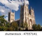 Washington National Cathedral...