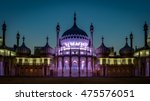 The Royal Pavilion At Night Is...