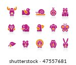 Stylized Animals 2 Colors