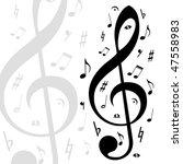 music  background | Shutterstock . vector #47558983