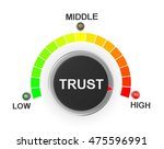 trust button position 3d... | Shutterstock . vector #475596991