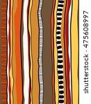 indigenous aboriginal inspired... | Shutterstock .eps vector #475608997