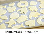 Cookie Tray With Raw Homemade...