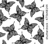 seamless pattern with... | Shutterstock . vector #475648144