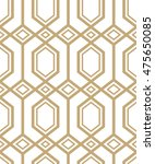 abstract pattern in arabian... | Shutterstock . vector #475650085