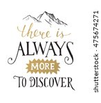 there is always more to... | Shutterstock .eps vector #475674271