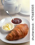 Breakfast With Croissants ...