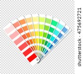 color palette guide on... | Shutterstock .eps vector #475692721