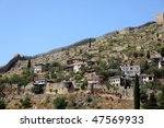 alanya curtain wall | Shutterstock . vector #47569933
