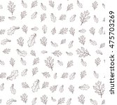 seamless stylish pattern with... | Shutterstock .eps vector #475703269