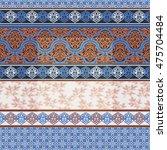 boho style seamless pattern.... | Shutterstock .eps vector #475704484