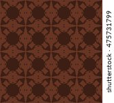 brown abstract background ... | Shutterstock .eps vector #475731799