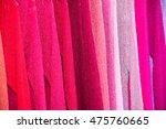 various different colors silk... | Shutterstock . vector #475760665