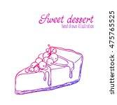vector hand drawn illustration... | Shutterstock .eps vector #475765525