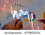 data analyzing in commodities... | Shutterstock . vector #475803241