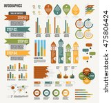 infographics elements ... | Shutterstock .eps vector #475806424