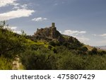 panoramic view of craco.... | Shutterstock . vector #475807429