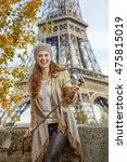 autumn getaways in paris.... | Shutterstock . vector #475815019